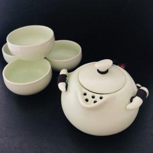 C019 Set pour préparer le thé de Chine Gong Fu Cha Tea Pot et Tea cup