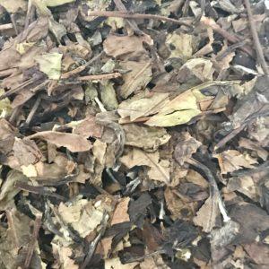 V011 thé blanc compressé reconditionné en vrac