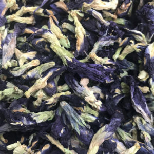 V014 Clitoria ternatea boisson fleur bleu naturelle originaire d'Asie Butterfly flower tea