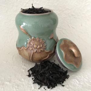 Boite à thé lotus Thé de rocaille 2018