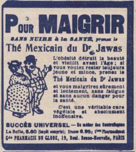 Thé mexicain du Dr Jawas Mode illustrée magazine avril